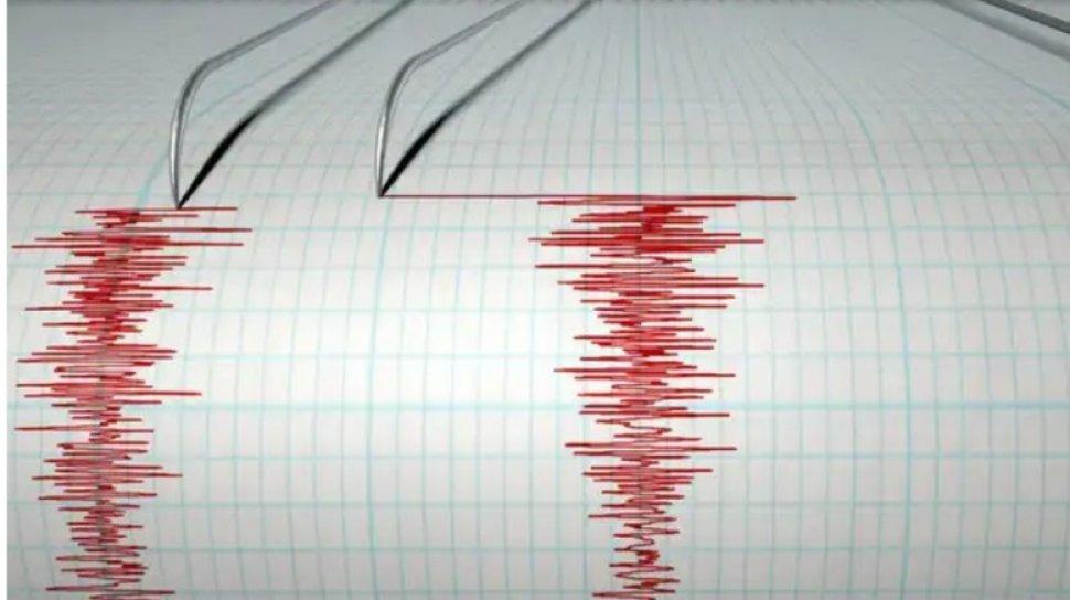 Ilustrasi gempa bumi, gempa tektonik, namun tidak berpotensi tsunami.