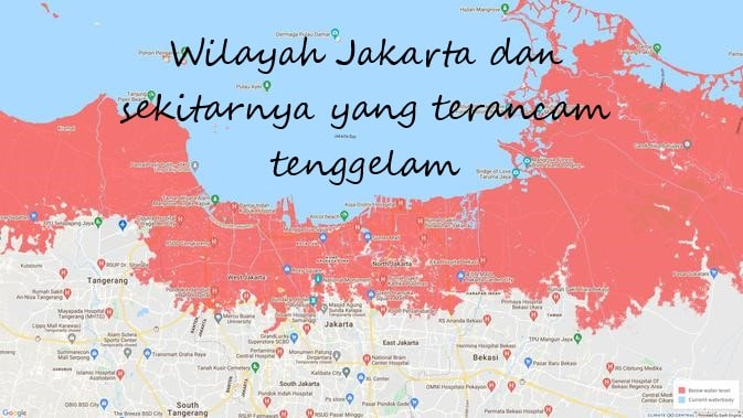 Penurunan Muka Tanah di Pesisir Jakarta